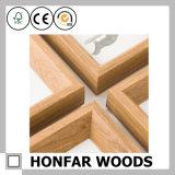 Cornice di legno reale di Rusitic/cornice elegante misera per la visualizzazione dello scrittorio