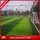 Het hete PE van de Producten van de Verkoop Populaire Lange Zachte Kunstmatige Gras van het Voetbal