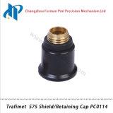 Экран потребляемых веществ газового резака плазмы Trafimet S75/крышка PC0114 Retainging