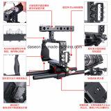 最新のC6カメラのケージはGh4/A6000/A6300のための安定したDlsrのカメラのアクセサリを保護する