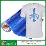 ファブリックのためのQingyiの卸売価格および良質のきらめきの熱伝達のビニール