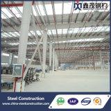 Diseño del edificio del almacén del taller de la estructura de acero