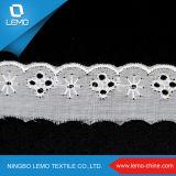 Merletto cinese del ricamo TC del commercio all'ingrosso della fabbrica del merletto per la decorazione del vestito/vestiti/cerimonia nuziale