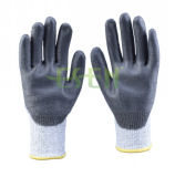 Перчатки работы руки обслуживания нитрила хорошего качества Esen Coated