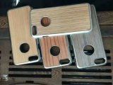 Revestimento rígido de acabamento de madeira real feito à mão original