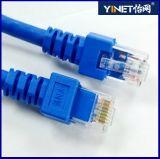 Steckschnür RJ45 des Internet-CAT6 für Link mit Schalter-Fräser-Computer 1m
