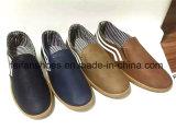 PUの上部の偶然の履物の靴(FFDL1230-04)が付いている人の注入の靴