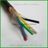 유연한 케이블 철사, PVC 또는 고무에 의하여 격리되는 전기선
