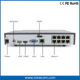 Rete calda NVR di obbligazione del CCTV di 8CH 4MP