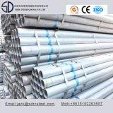 De pared delgada galvanizado tubo redondo de acero para muebles