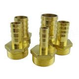 Adaptateur hydraulique droit d'ajustage de précision de pipe d'embout de durites d'OEM DIN