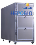Аттестованный Ce холодильник покойницкой трупов стационара 6 нержавеющей стали