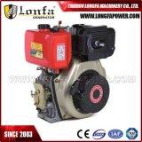 Solo motor diesel del cilindro 186fa 10HP de la potencia con el arranque eléctrico
