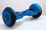Caliente nuevo modelo de rueda de 10 pulgadas intermitente dos ruedas eléctrico Trike autobalanceo Vespa