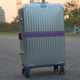 Großhandels-Polyester-Gepäck-Material-Riemen mit Plastikverschluß