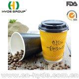 Della fabbrica tazza di carta personalizzata del caffè di vendita direttamente con i coperchi