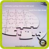 3mm leeres Holz MDF-Puzzlespiel für Sublimation-Drucken