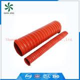 Rote Silikon-Leitung für industrielle Ventilation