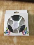 Hilandero colorido del juguete del dedo de la mano del rodamiento de rueda de la luz tres del LED