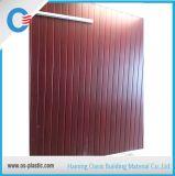 панель потолка PVC панели стены PVC конструкции ширины 300mm деревянная прокатанная