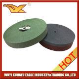 研摩のナイロン車輪の非編まれた磨く車輪(150X25mm、7P)