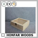 簡単な様式の木箱の精油ボックス収納箱