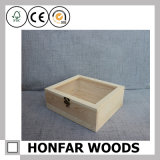Caixa de madeira de caixa de madeira de estilo simples