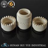 Puntale di ceramica della cordierite per la base di ceramica della saldatura di vite prigioniera, parte di ceramica