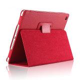 Caso de cuero en folio delgado estupendo de la cubierta de la caja de la tablilla para el mini aire del iPad FAVORABLE