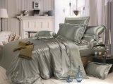 寝具のジャカード継ぎ目が無い絹の100%年のクワ絹シートの絹の羽毛布団カバー