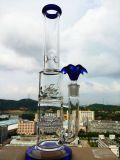 Tubulação de fumo de vidro da tubulação de água do preço da fábrica 18inch 1.4kg