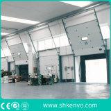 """Porte Sectionnelle Supplémentaire Industrielle Motorisée Automatique de Garage de Panneau """"sandwich"""" D'unité Centrale"""