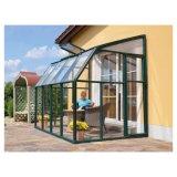 Los cuartos de Sun derechos libres del aluminio/prefabricaron la casa de cristal