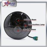 45W LED는 DRL를 가진 지프 7inch LED 헤드라이트를 위한 1개의 LED 헤드라이트 및 지프를 위한 달무리 나른다