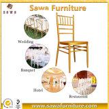 금속 싸게 이용된 도매 Chiavari 의자 결혼식 의자