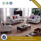 Sofa moderne de bureau de divan de cuir véritable de meubles de bureau (HX-SN045)