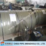 T grande dos encaixes de tubulação do tamanho do Bw do aço inoxidável A403 304/304L ASME Sch10