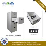Puder-Beschichtung-Stahlmetallzahnstangen-Aktenschrank (Bücherschrank, Bücherregal) (HX-5104MT)