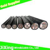 Медная кабельная проводка силы PVC сердечника XLPE