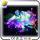 O diodo emissor de luz popular do festival ilumina a corda com corda ao ar livre das luzes do diodo emissor de luz do Natal