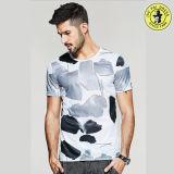 La plus défunte coton 100% des T-shirts personnalisé T de modèle par vente en gros pour les hommes