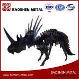 Bureau animal en métal et exposition hall et qualité et prix concurrentiel à la maison de sculpture en métal de décoration