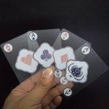 PVC 부지깽이 투명한 PVC Playingcards