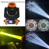 luz principal movente 3 do feixe de 7r Sharpy 230W em 1 feixe, lavagem, Gobos Nj-B230c para a iluminação do clube de noite do estágio do DJ