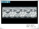 Merletto elastico di vendita caldo di Lycra della guarnizione del merletto