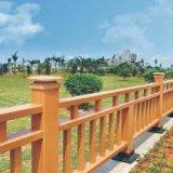 Eco-Friendly деревянные пластичные составные загородка и Railing для сада