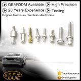 El CNC Turnning del aluminio parte piezas de precisión trabajadas a máquina CNC