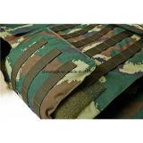 Nij III a armé le gilet à l'épreuve des balles tactique protecteur de PE de Kevlar de camouflage de police