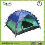 Automatischer doppelte Schicht-halber Deckel-kampierendes Zelt