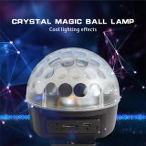 Luz mágica cristalina teledirigida de alta calidad del efecto de la bola del LED